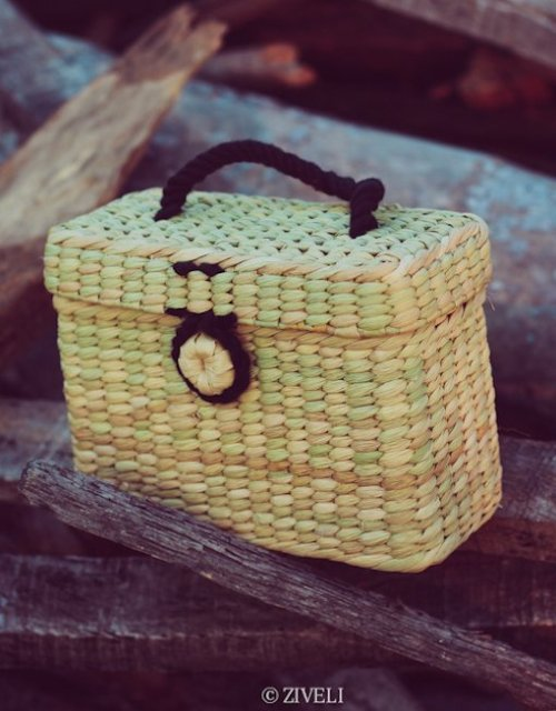 trendy mini box bag