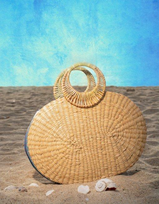 Beach tote Bag-Ziveli