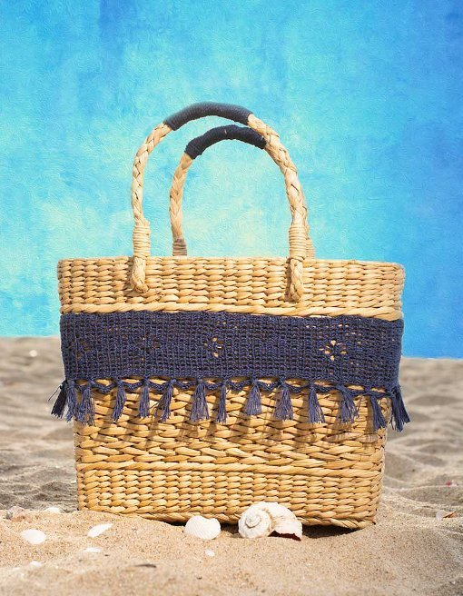 kauna reed bag, sea grass bag