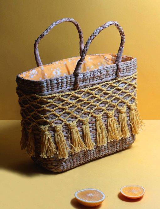 crochet ladies handbag