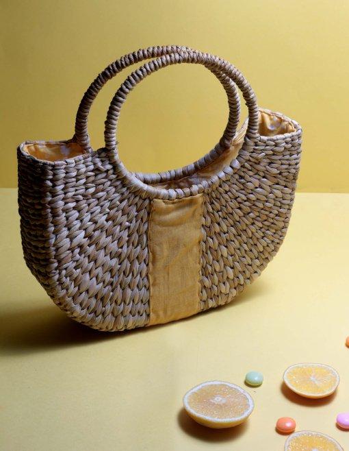 women rattan handbag