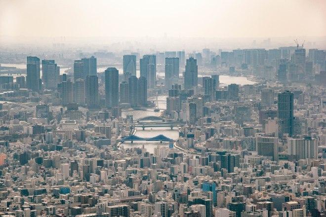 Pogled s Tokyo Towera