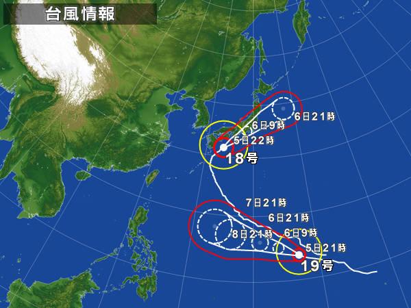 ファンフォン(台風18号)の意味は動物、実は台風の名前は既に決まっている。
