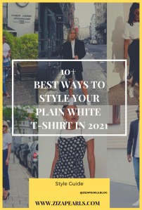10 Ways to Style a White T-Shirt