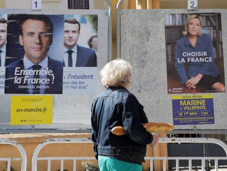 Don't believe the liberals – there is no real choice between Le Pen and Macron