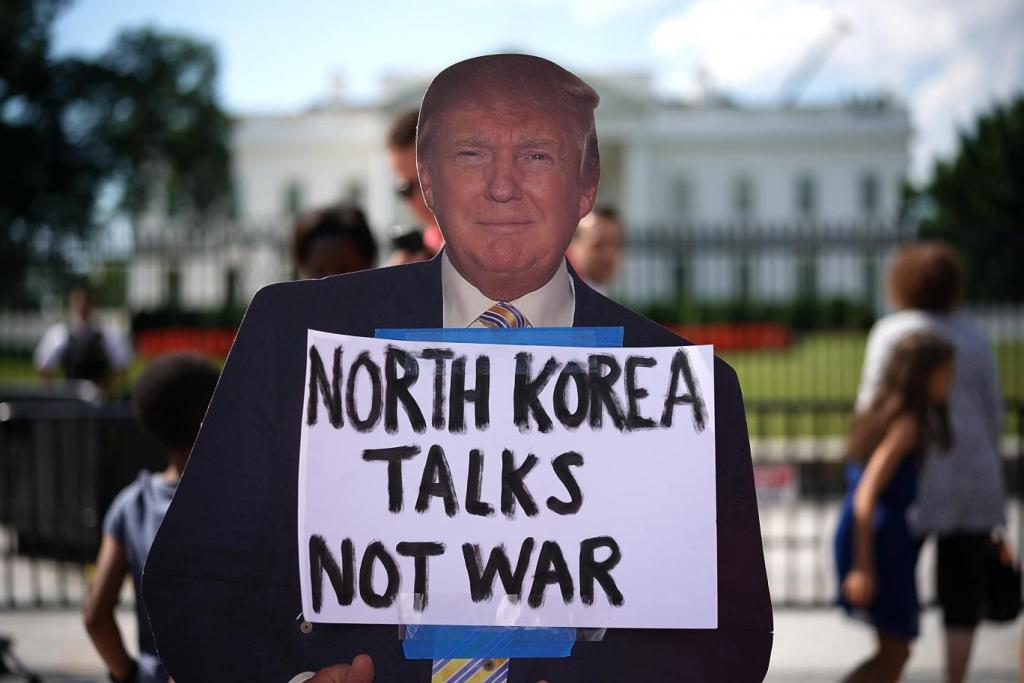 How did Trump really end up clashing with North Korea? By pursuing two contradictory foreign policies at the same time