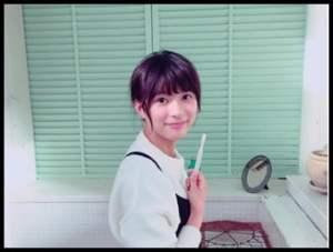 芳根京子,洗面,写真
