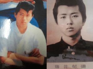 藤井フミヤ,若い頃,学生時代,画像