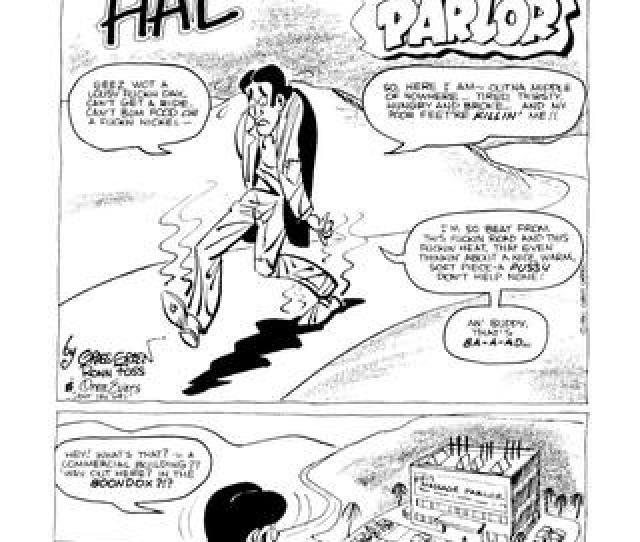 Hobo Hal Visits A Massage Parlor By Grass Green Zizki Sex And Porn Comics
