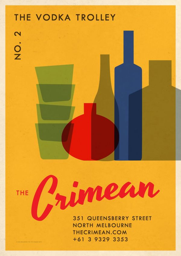 The Crimean Vodka Trolley Poster