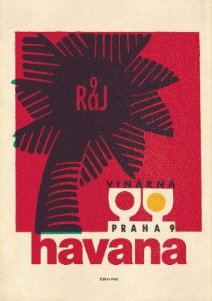 Zizkov Park Havana poster