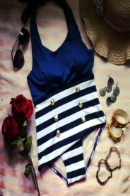 Navy-Stripes-Maillot
