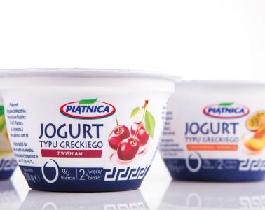 Piątnica Jogurt typu Greckiego z truskawkami skład