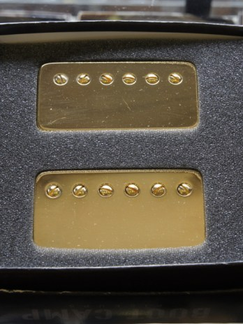 Bare Knuckle Bootcamp Brute Force 6 Humbuckers – Gold Cover / 53mm Set