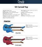 Ormsby SX Carved Top 7- Run 10 – Candy Apple