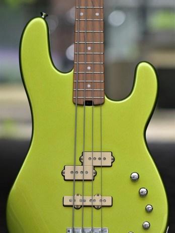 Charvel Pro-Mod San Dimas Bass PJ IV – Lime Green Metallic
