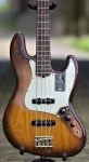 Fender 75th Anniversary Commemorative Jazz Bass – 2-Color Bourbon Burst