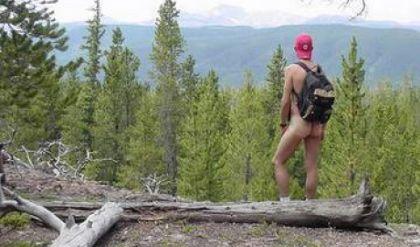 nude hike