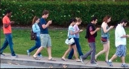 phone zombies