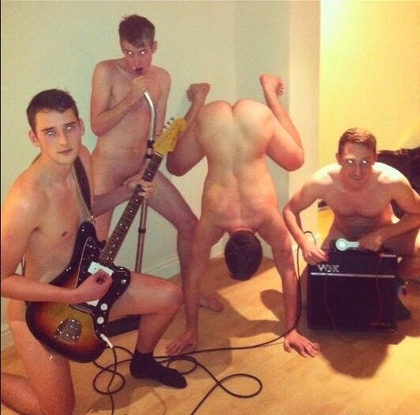 Nude rock band