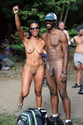 Black nudists