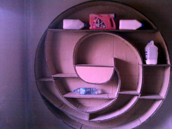 cardboard-shelf-4 - z tektury