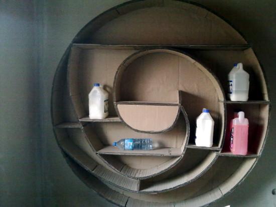 cardboard-shelf-5 - z tektury