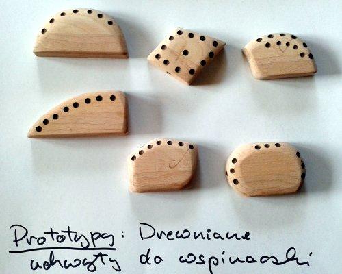 Uchwyty wspinaczkowe drewniane - 11