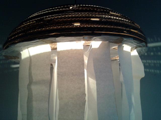 Lampa z tektury Meduza II - 3