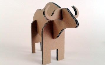 Bawol z kartonu - 4