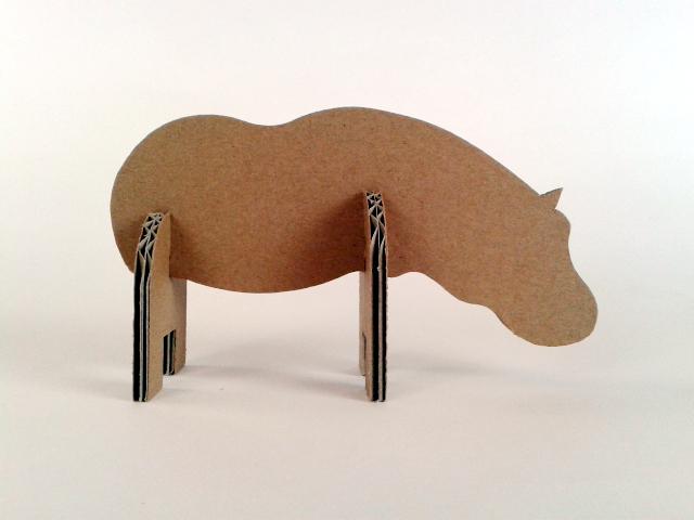 Hipopotam z tektury - 3