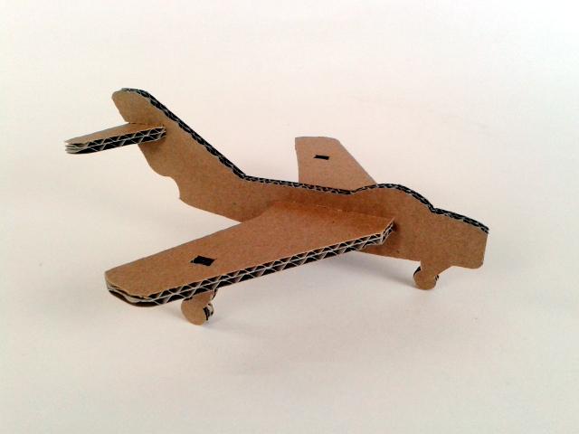 Tekturowe zabawki  - MIG / Cardboard toys  - MIG