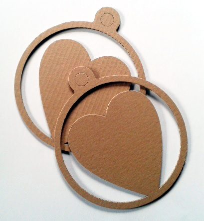 Serca z kartonu 20 - 1