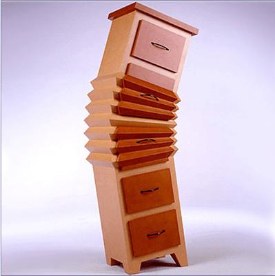 kreatywne meble dla dzici z kartonu - 4