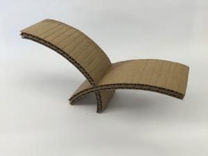 tekturowy model uchwytu na noze - 2