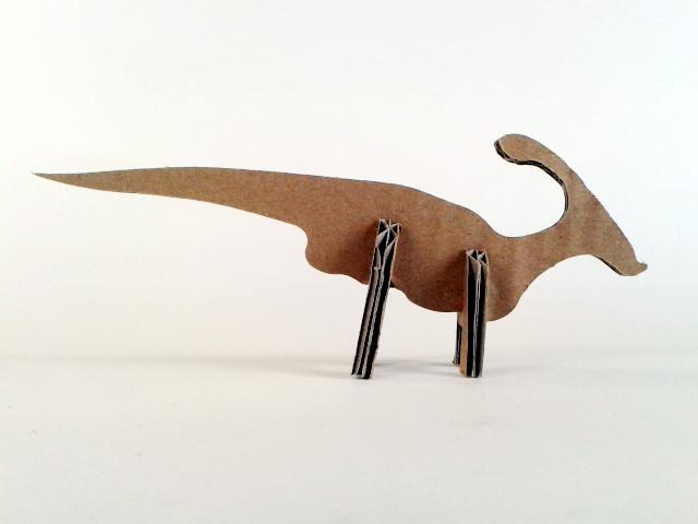 kartonowe dinozaury - 1- 3