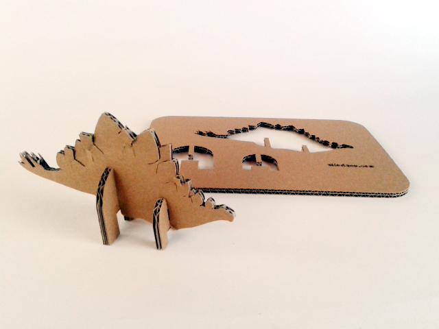 kartonowe dinozaury - 2- 1