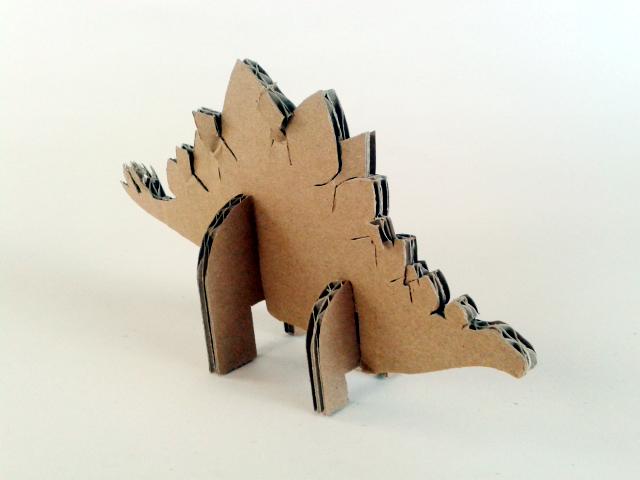 Kartonowe dinozaury - 2/ Cardboard dinosaurs - 2