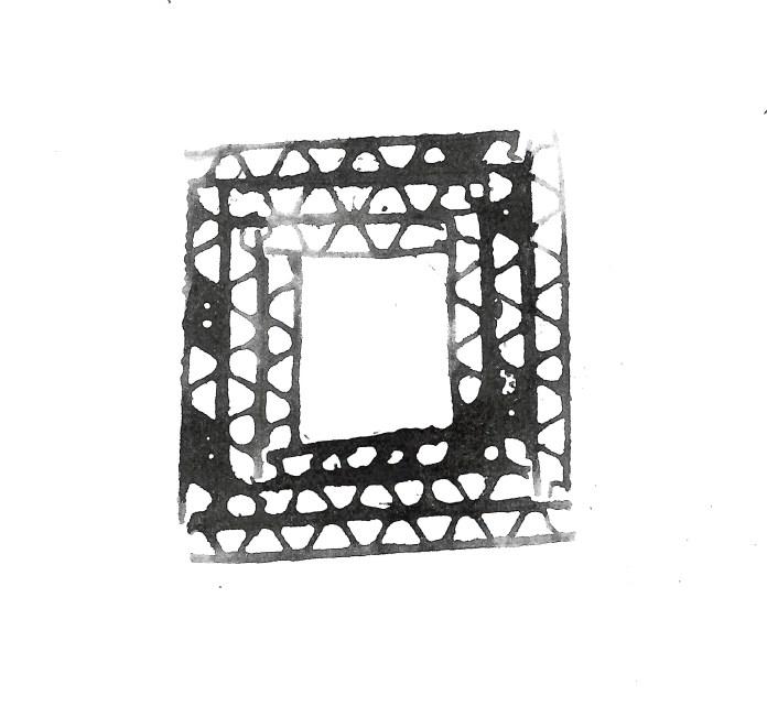 Kwadrat z kartonu
