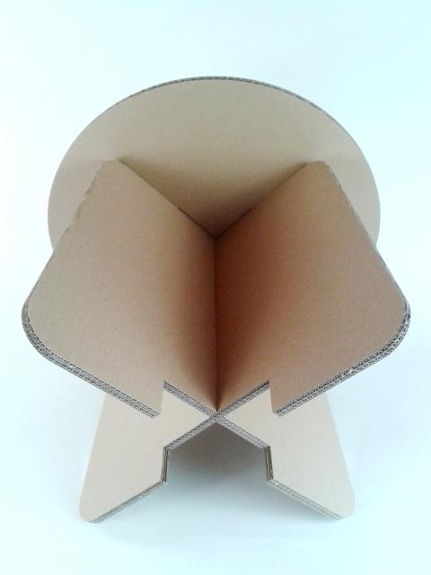 Stol z karotnu skladany - 5