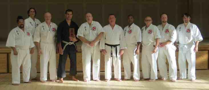 Okinawa 2017 - Karate Kaikan training