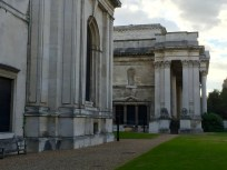 Entrance of Fitzwilliam