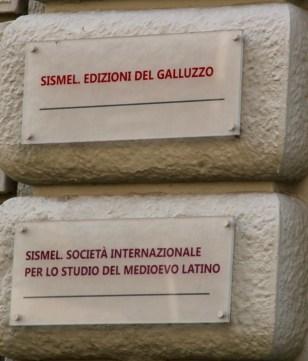 Entrance to SISMEL