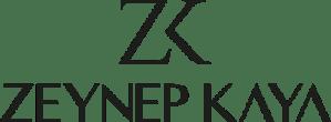 ZK Zeynep Kaya Logo Siyah