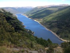 Cobb Reservoir from the top of Cobb Dam Road
