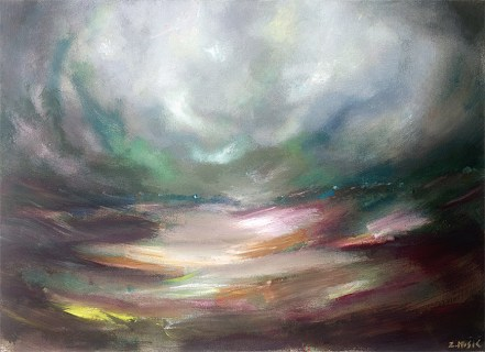 The eye of the Storm modern abstract artwork