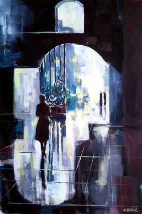 fine art painting, abstract contemporarz art by Zatko Music