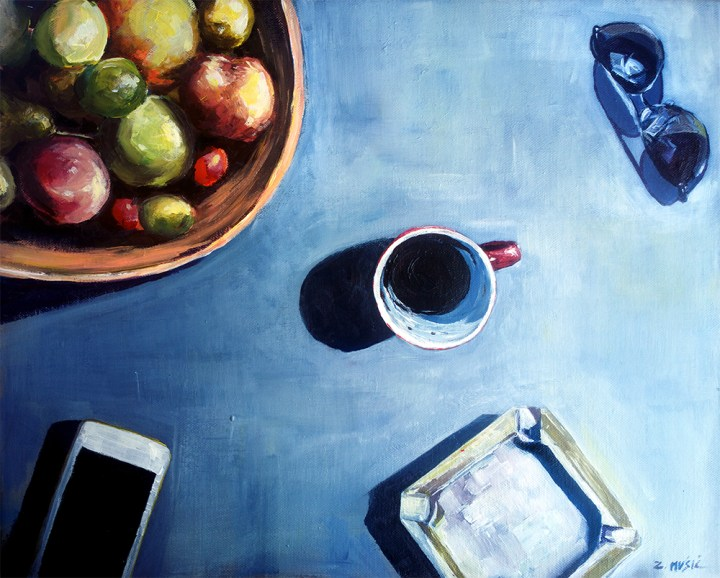 fine art still life contemporary modern painting by Zlatko Music
