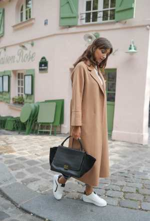 Choklate Paris Wool coat camel