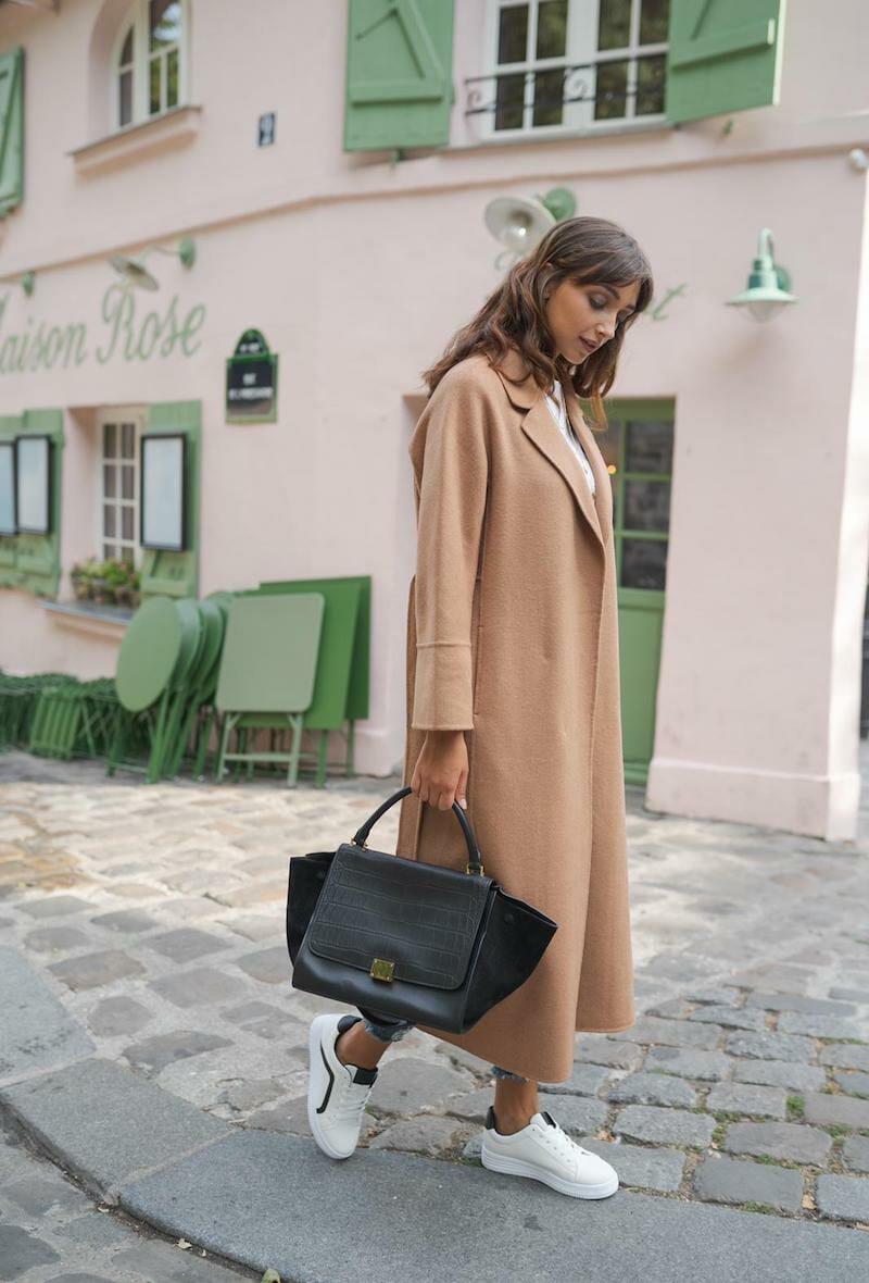 Choklate Paris Wool coat camel